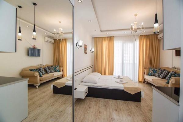Квартира  студия,  34 м²,  18/26 эт.   посуточно